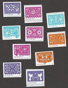 US 5081-5090 Colorful Celebrations set 10 stamps MNH 2016