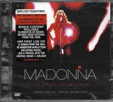 CD + DVD MADONNA I'M GOING TO TELL YOU A SECRET DE 2006 NEUF SCELLE GERMANY