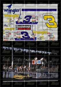 NASCAR 1/24 DECALS DE04 - DALE EARNHARDT 1987 CUP #3 WRANGLER (DARLINGTON WIN)