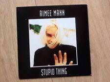 """AIMEE MANN . STUPID THING 7"""""""