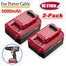 2x 5.0Ah 20V MAX PCC685L Lithium-Ion Batteries for Porter Cable PCC680L PCC682L