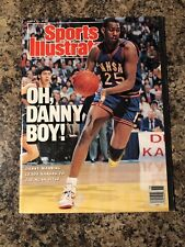 1988 Kansas Jayhawks Sports Illustrated Magazine. Danny Manning. Newsstand
