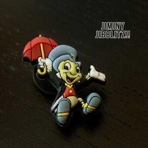 Disney's Jiminy Cricket JIBBITZ  - Shoe Charm for Crocs Clogs Bracelet - LOOK