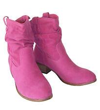 Slouchstiefel Stiefel Boots gefüttert Westernstiefel pink Tanzschuhe 37 Neu