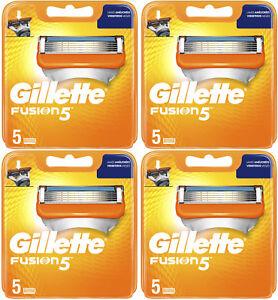 Gillette Fusion 5 Lot de 20 Lames de Rasoir Neuf