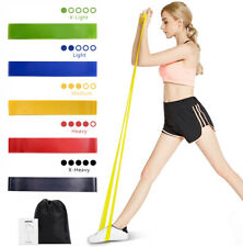 Resistance Bands Workout Loop Set Leg Exercise Band CrossFit Fitness Yoga Booty