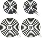 Range Stove Top Surface Element Burner Coil Kit Replacement For GE Hotpoint RCA photo