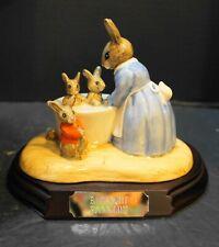 Royal Doulton Bunnykins Bathnight Figurine NIB L Ed 239/5000