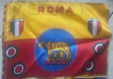ULTRAS SCIARPA BANDIERA ROMA FLAG ANNI 80 30 X 20 CM