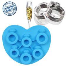 Diamant Ring Eiswürfel-Behälter Silikon Gefrier Gelee Pudding Schokoladen Form