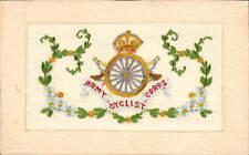 WW1 Regimental Silk. Army Cyclist Corps.