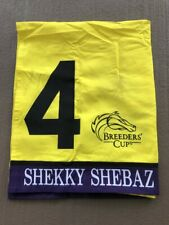 SHEKKY SHEBAZ BREEDERS' CUP RACE WORN SADDLE CLOTH