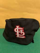 St Louis Cardinals Black Uncommon Thread Chef Beanie one size style 0159