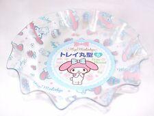 New My Melody Round Plastic Tray S size Sanrio Kawaii Free Shipping