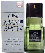 JACQUES BOGART ONE MAN SHOW EDT SPRAY FOR MEN 3.3 Oz / 100 ml NEW ITEM IN BOX!!!