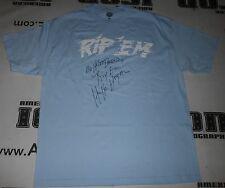 Hulk Hogan Signed WWE No Holds Barred Rip Em Shirt PSA/DNA COA Movie Autograph