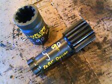 Massey Ferguson Super 90 Diesel Tractor rear input drive shaft & coupler
