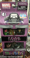 Minimates Marvel Fear Itself the Worthy 4-Pack 2012