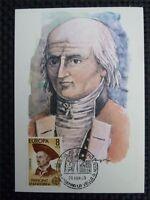 ANDORRA MK 1980 EUROPA CEPT MAXIMUMKARTE CARTE MAXIMUM CARD MC CM c181