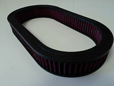 "15"" Oval Washable Air Cleaner Element Filter Chevy SB BB SBC BBC Chevy 350 454"