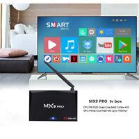 MX9 Pro 4GB+32B Android 8.1 Smart TV Box RK3328 Quad Core Dual WiFi Media Player