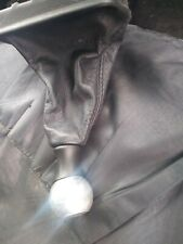 Peugeot 206 chrome gear knob and leather gaiter FREE POSTAGE!