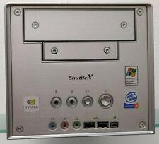 Shuttle XPC SB61G2 Barebone Alu [P4 & PC3200 DDR] # GUT! Orig.-Tasche! Zubehör!
