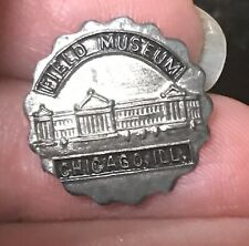 Field Museum Chicago Illinois vintage souvenir  pin