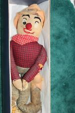 Vintage Antique Homemade Cotton Sock Doll Weary Willy  TLC