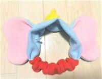 Tokyo Disney Resort Headband Hair Band after rubber DUMBO Ears Plush F/S Japan