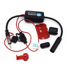Car Truck Stereo Antenna Fm Am Radio Inline Signal Amp Amplifier Booster Black (Fits: Hyundai)