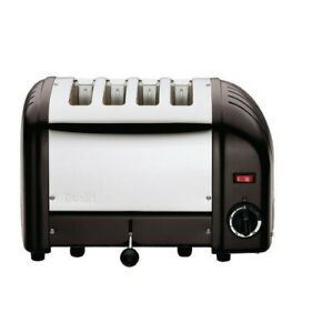 Dualit Bread Toaster 4 Slice Toaster (130 slices/hr. 220(H) x 360(W) x 210(D)mm)
