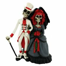 Funny Wedding Cake Toppers Bride And Groom Gothic Rock Topper Couple Figurine UK