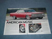 "1964 Chevelle Malibu SS Convertible RestoMod Article ""American Music"""