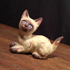 Vintage Siamese Cat Figurine Priority Mail