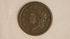 1838 Large Cent Coin - 1C