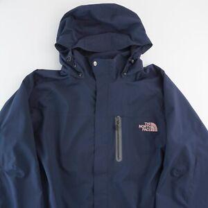 The North Face Gore Tex Pro Shell Nylon Mountain GTX Jacket - Blue Womens XXL