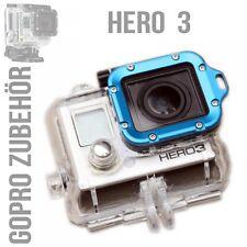 Premium Aluminium Alu Lanyard Ring für GoPro HD Hero 3 Metall Rahmen + Werkzeug