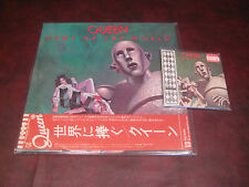 QUEEN NEWS OF WORLD REPLICA JAPAN 04 TOSHIBA/EMI OBI CD+ JAPAN OBI VINYL P10430E