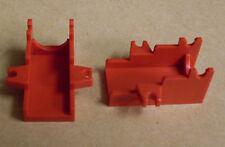Lego 2x Kanonenbasis für Western / Piraten ( Zubehör Waffen Stativ rot ) Neu
