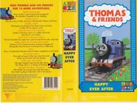 THOMAS THE TANK ENGINE HAPPY EVER AFTER VHS VIDEO PAL A RARE FIND