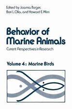 Behavior of Marine Animals: Current Perspectives in Research. Marine B-ExLibrary