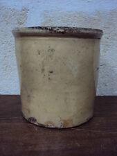 05 Antico VASETTO in ceramica originale di Grottaglie  del fine '800