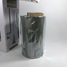 Two (2) Lamp Shades, Kirkland Buffet Lamps, SHADES ONLY - Tall Gray - Never Used
