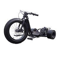 Drifter Master Trike Wicked Fast ScooterX MATTE BLACK 49cc Gas Engine Go Kart