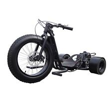 Wicked Fast ScooterX BLACK Drifter Master Trike Bike 49cc Gas Engine Go Kart