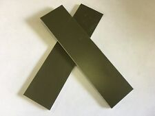 "G10: OD Green 1/8""  6"" x 1.5""  Scales for Wood Working, Knife Making, Bush Craft"