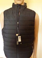 Jockey Sport Vest Lightweight ATHLEISURE Water Repellent Black - Size Medium
