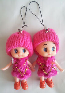 Korea Ddung Doll Cell Phone Backpack Keychain Gift Christmas Decoration Depant 4
