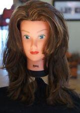 Aspen 100% Real Human Long Hair Brown Wig Dirty Golden Blonde Cosplay NIP Womans